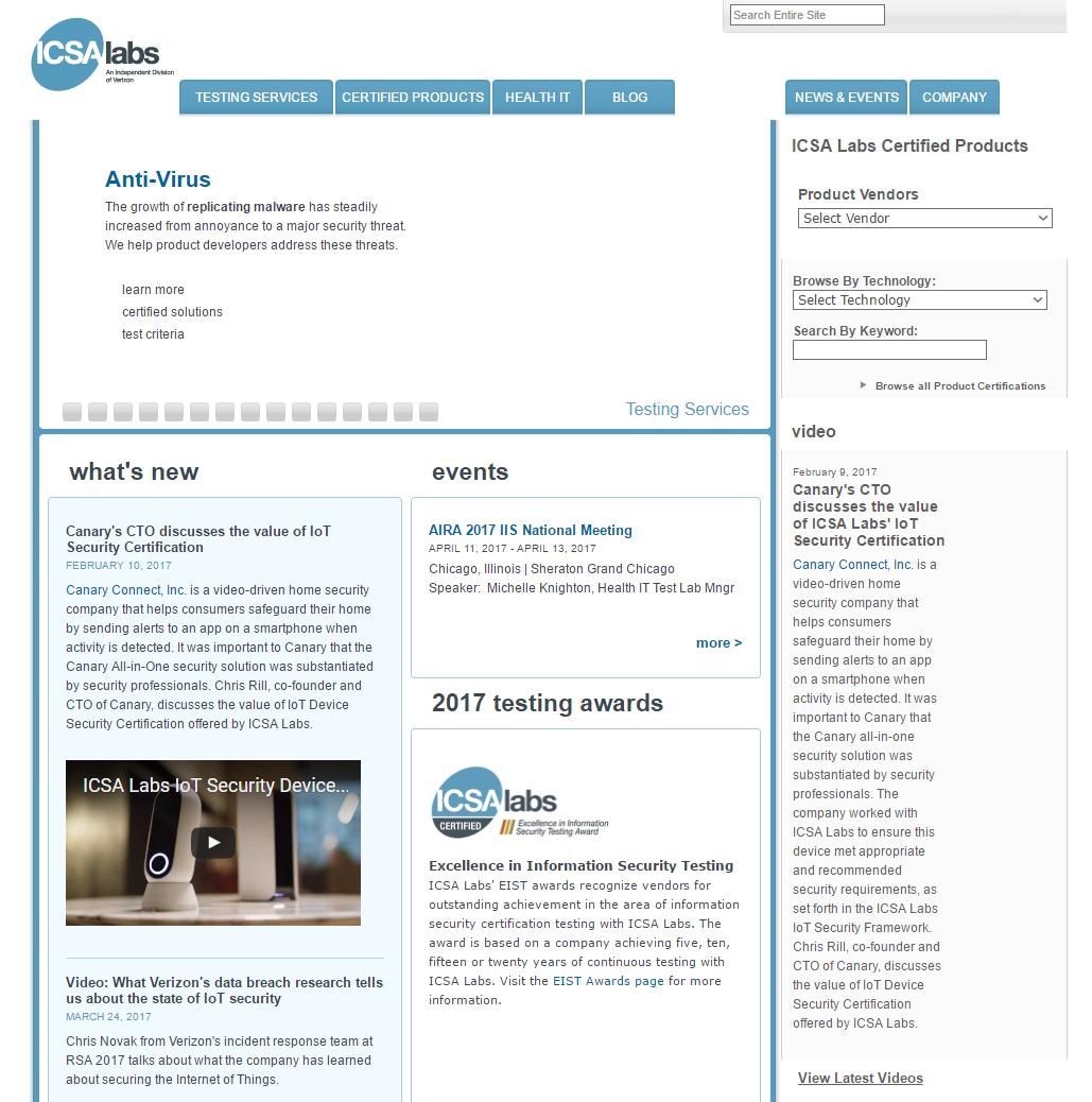 List of AV Testing Labs | AV-Comparatives