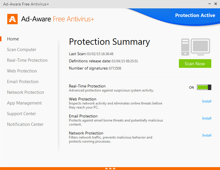 Lavasoft Ad-Aware Free Antivirus+