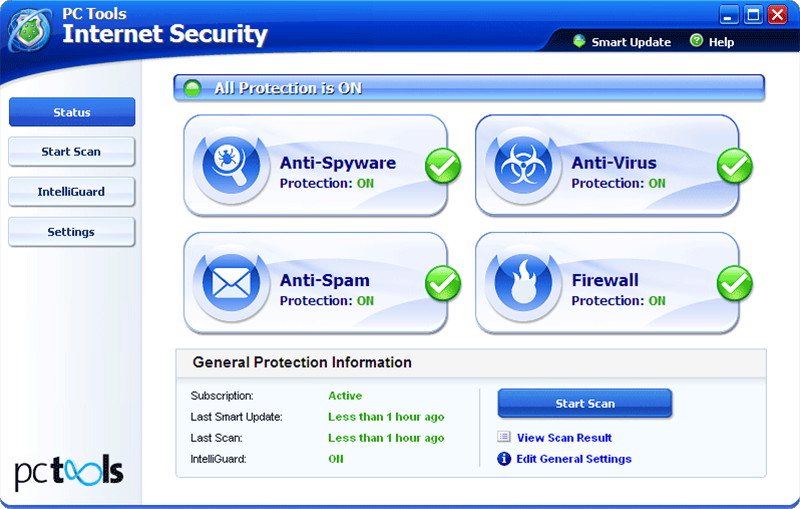 PC Tools Internet Security | AV-Comparatives