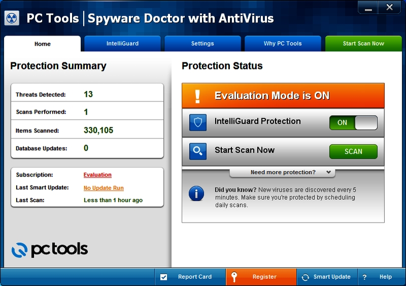 PC Tools Spyware Doctor with AV