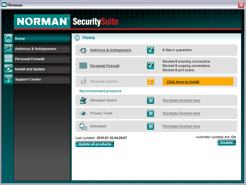 Norman Antivirus & Anti-Spyware