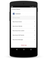 Ahnlab V3 Mobile Security 2015 - Privacy Advisor