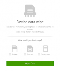 Avira Antivirus Security 2016 - Data Wipe