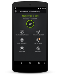 Bitdefender Mobile Security and Antivirus 2015