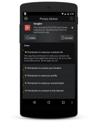Bitdefender Mobile Security and Antivirus 2015 - Privacy Advisor