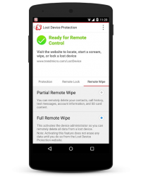 Trend Micro Mobile Security 2015 - Wipe