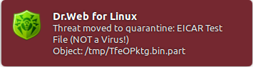 Dr.Web Anti-virus for Linux