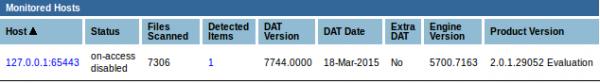 McAfee VirusScan Enterprise for Linux