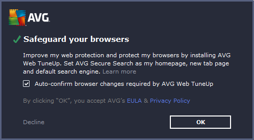 AVG Internet Security 2016 - Browser protection