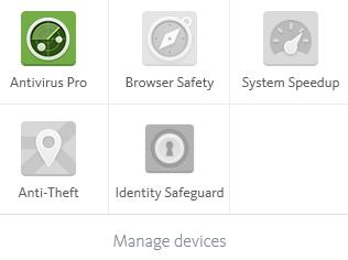 Avira Antivirus Pro 15.0 - Launcher