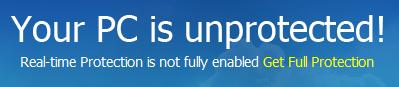 Baidu Antivirus 5.4.3 - Status alert