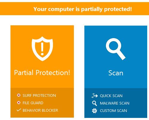 Emsisoft Anti-Malware 11.0 - Status alert