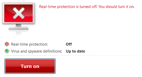 Microsoft Windows Defender for Windows 10