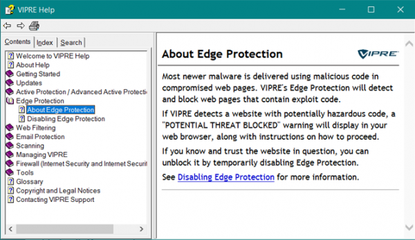 ThreatTrack VIPRE Internet Security Pro
