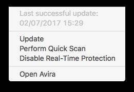 Avira Antivirus Pro for Mac | AV-Comparatives
