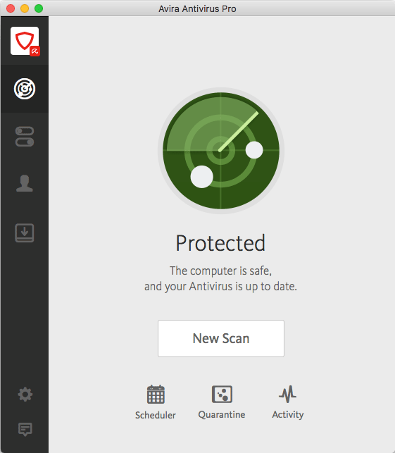 Avira Antivirus Pro for Mac