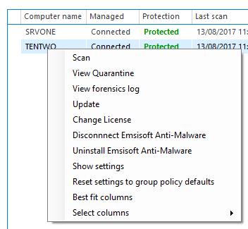Emsisoft Enterprise Console
