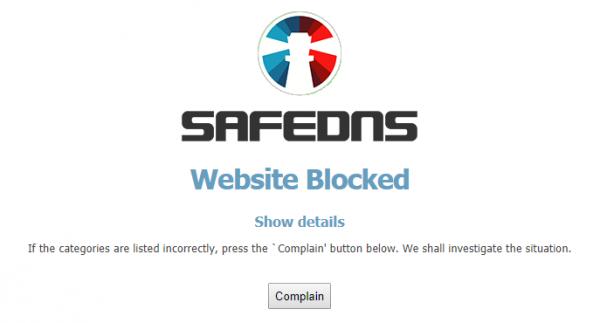 SafeDNS for Windows
