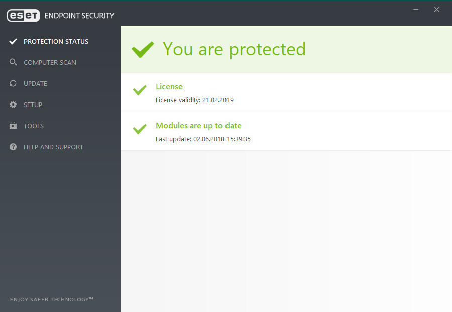 ESET Endpoint Security and Remote Administrator