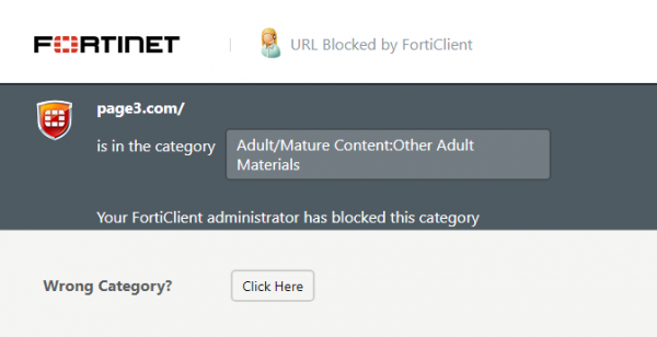 Fortinet FortiClient for Windows