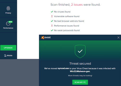 avast dashboard.problems.expiring