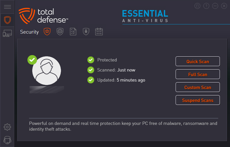 Total Defense Essential Antivirus