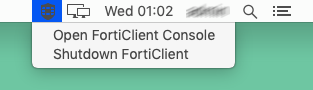 FortiClient for macOS