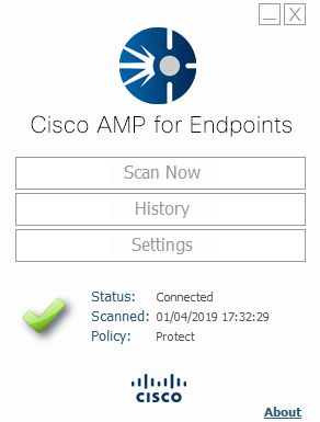 Cisco Advanced Malware Protection for Endpoints