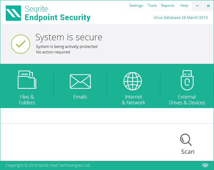 Seqrite Endpoint Security Cloud