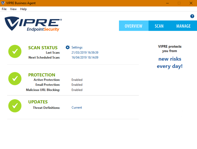 VIPRE Endpoint Security Cloud