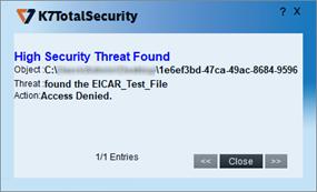 K7 Total Security