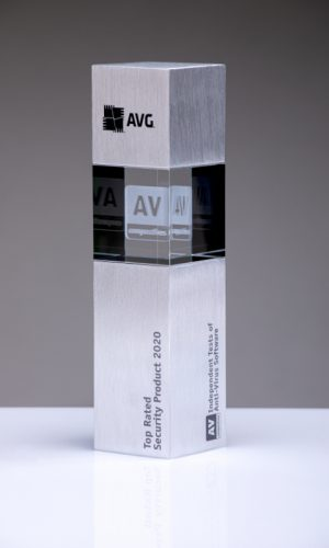 AVG Top Rated Security Product 2020 Trophy