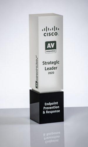 Cisco Endpoint Prevention & Response Strategic Leader 2020 Trophy