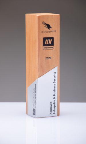 Crowdstrike Approved Enterprise & Business Security 2020 Trophy