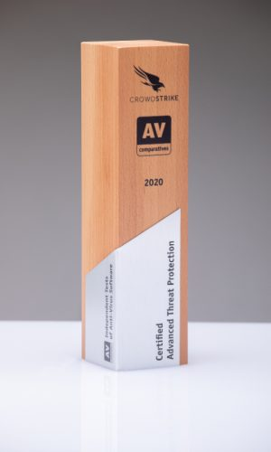 Crowdstrike Certified Advanced Threat Protection 2020 Trophy