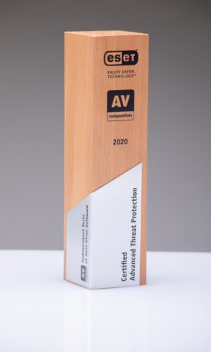 Eset Certified Advanced Threat Protection 2020 Trophy
