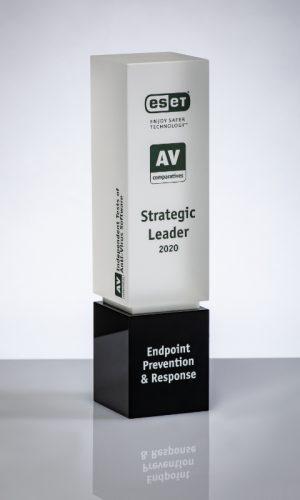 Eset Endpoint Prevention & Response Strategic Leader 2020 Trophy