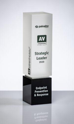 Paloalto Endpoint Prevention & Response Strategic Leader 2020 Trophy