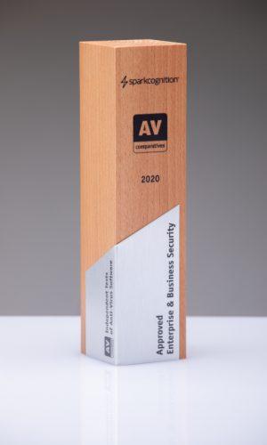 Sparkcognition Approved Enterprise & Business Security 2020 Trophy