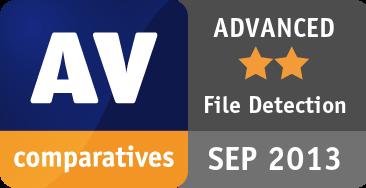 File Detection Test September 2013 - ADVANCED