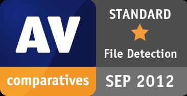 File Detection Test September 2012 - STANDARD