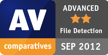 File Detection Test September 2012 - ADVANCED