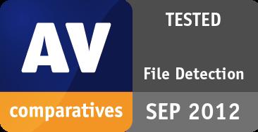 File Detection Test September 2012 - TESTED