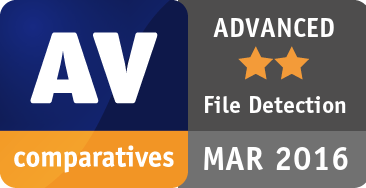 File Detection Test March 2016 - ADVANCED
