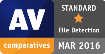 File Detection Test March 2016 - STANDARD