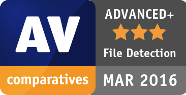 File Detection Test March 2016 - ADVANCED+