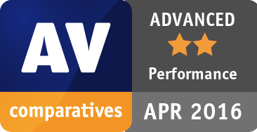Performance Test April 2016 - ADVANCED