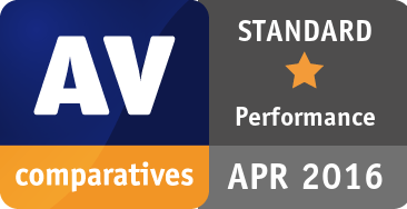 Performance Test April 2016 - STANDARD