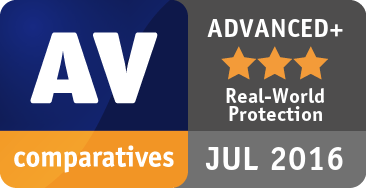 Real-World Protection Test February-June 2016 - ADVANCED+