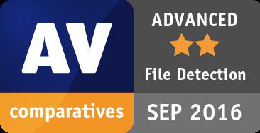 File Detection Test September 2016 - ADVANCED